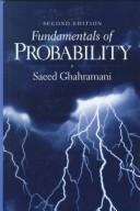 Cover of: Fundamentals of probability