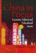 Cover of: China in focus |