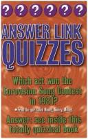 Cover of: Answer link quizzes | Christopher Rigby