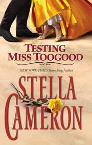 Cover of: Testing Miss Toogood