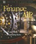 Cover of: Finance for all?