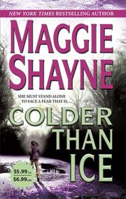 Cover of: Colder Than Ice (Mordecai Young Series, Bk. 2) | Maggie Shayne