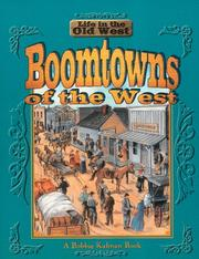 Cover of: Boomtowns of the West