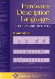 Cover of: Hardware Description Languages | Sumit Ghosh