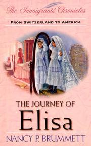 Cover of: The journey of Elisa