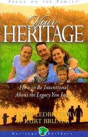 Cover of: Your heritage