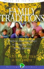Cover of: Family traditions