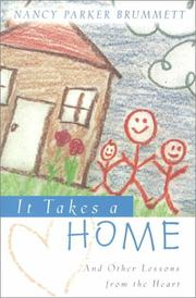 Cover of: It Takes a Home