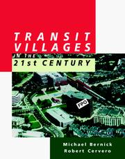 Cover of: Transit villages in the 21st century