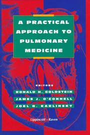 Cover of: A practical approach to pulmonary medicine |