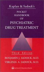 Cover of: Kaplan and Sadock's Pocket Handbook of Psychiatric Drug Treatment