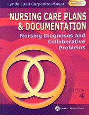 Cover of: Nursing Care Plans and Documentation
