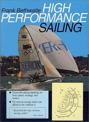 Cover of: High Performance Sailing | Frank Bethwaite