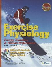 Exercise physiology by William D. McArdle