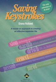Cover of: Saving keystrokes | Diana Rolland
