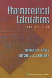 Cover of: Pharmaceutical calculations