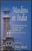 Cover of: Muslims in India