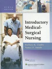 Cover of: Introductory Medical-Surgical Nursing