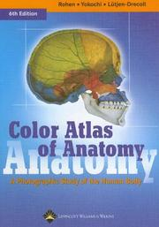 Cover of: Color Atlas of Anatomy | Johannes W. Rohen