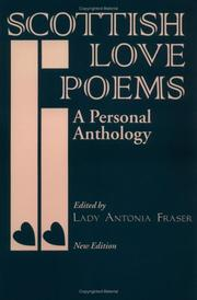 Cover of: Scottish Love Poems