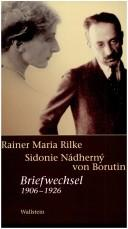 Cover of: Briefwechsel 1906-1926 | Rainer Maria Rilke