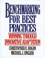 Cover of: Benchmarking for best practices