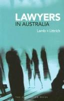 Cover of: Lawyers in Australia | Ainslie Lamb