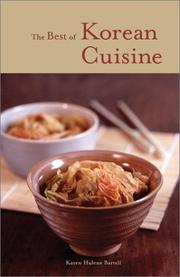 Cover of: The best of Korean cuisine
