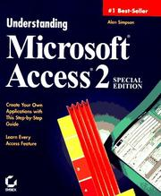 Cover of: Understanding Microsoft Access 2
