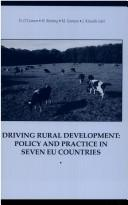 Cover of: Driving rural development