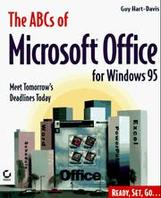 Cover of: The ABCs of Microsoft Office for Windows 95