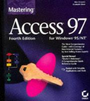 Cover of: Mastering Access 97