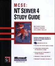 Cover of: MCSE--NT Server 4