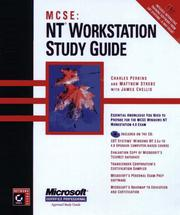 Cover of: MCSE--NT workstation study guide | Perkins, Charles