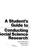Cover of: A student's guide to conducting social science research