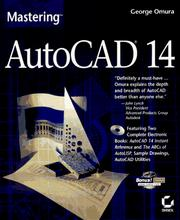 Cover of: Mastering AutoCAD 14