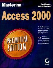 Mastering Access 2000  Premium Edition