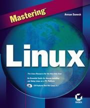 Cover of: Mastering Linux (Mastering)
