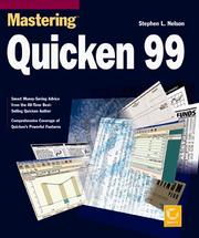 Cover of: Mastering Quicken 99