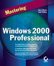 Cover of: Mastering Windows 2000 Professional (Mastering)