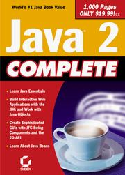 Cover of: Java 2 complete. |