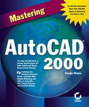 Cover of: Mastering AutoCAD 2000