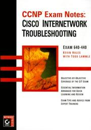 Cover of: CCNP Exam Notes | Kevin Hales