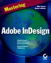 Cover of: Mastering Adobe InDesign
