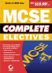 Cover of: MCSE Complete | Sybex Inc.