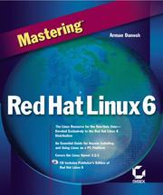 Cover of: MASTERING RED HAT LINUX 6
