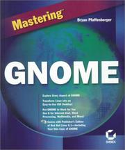 Cover of: Mastering Gnome