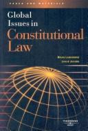 Cover of: Global issues in constitutional law
