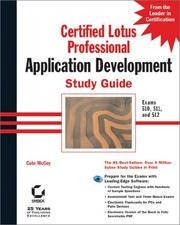 Cover of: Certified Lotus Professional