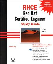 Cover of: RHCE Red Hat Certified Engineer Study Guide Exam RH302